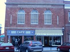 Cafe and shop on Washington Square
