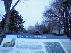 Queen Anne Square with the Old Trinity Church in the background